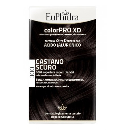 EUPHIDRA TINTA COLORPRO XD 300 CASTANO SCURO