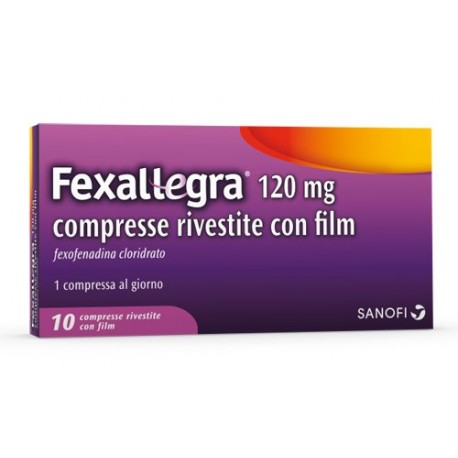 FEXALLEGRA 10 COMPRESSE RIVESTITE 120 MG