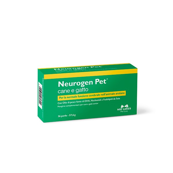 NEUROGEN PET CANE E GATTO 36 PERLE -NUOVA CONFEZIONE