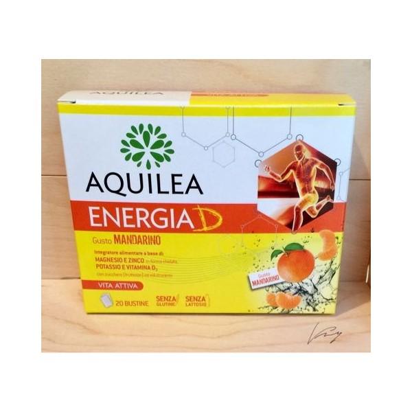 AQUILEA ENERGIA D  20 BUSTINE GUSTO MANDARINO