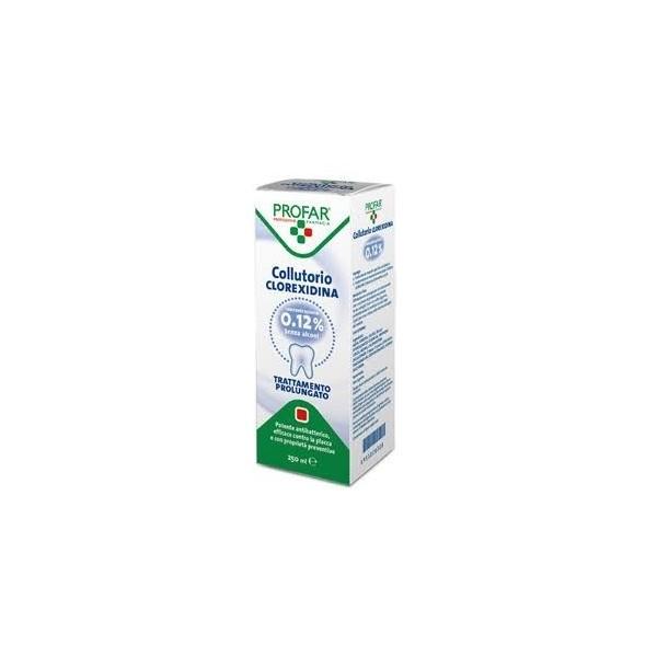 PROFAR COLLUTORIO CLOREXIDINA 0.12% SENZA ALCOOL FLAC 250 ML