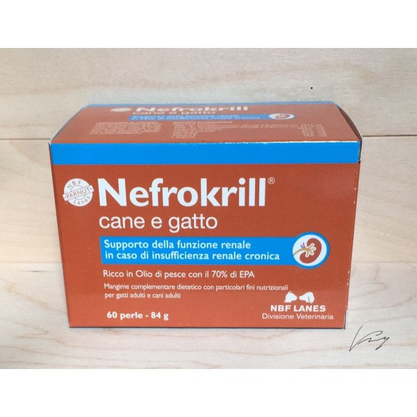 NEFROKRILL CANE E GATTO 60 PERLE