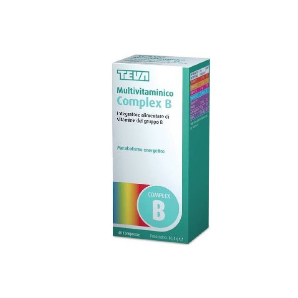 MULTIVITAMINICO COMPLEX B 40 COMPRESSE