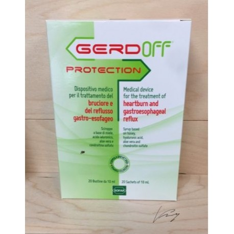 GERDOFF PROTECTION SCIROPPO 20 BUSTINE