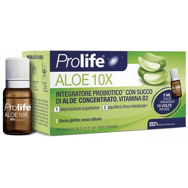 PROLIFE ALOE 10 FLACONCINI 8 ML