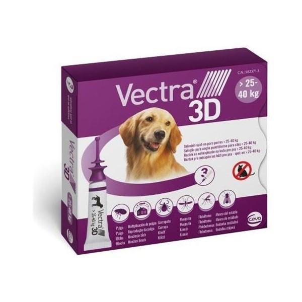 VECTRA 3D SPOTON 3 PIP 25 - 40 KG VIOLA