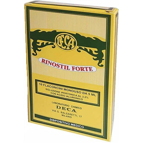 RINOSTIL FORTE 10 FLACONI 5 ML