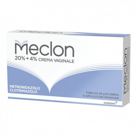 MECLON CREMA VAGINALE 30 GR 20% + 4% + 6 APPLICATORI