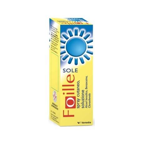 FOILLE SOLE SPRAY CUTANEO 70 GR.