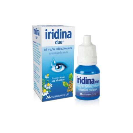 IRIDINA DUE COLLIRIO 10 ML 0,5 MG /ML