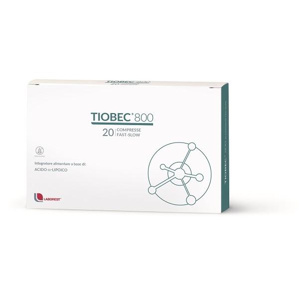 TIOBEC 800 20 COMPRESSE FAST-SLOW 32 GR