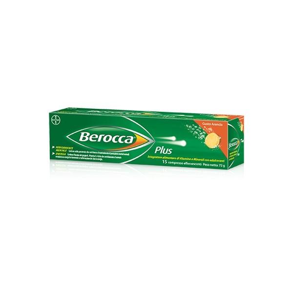 BEROCCA PLUS 15 COMPRESSE EFFERVESCENTI