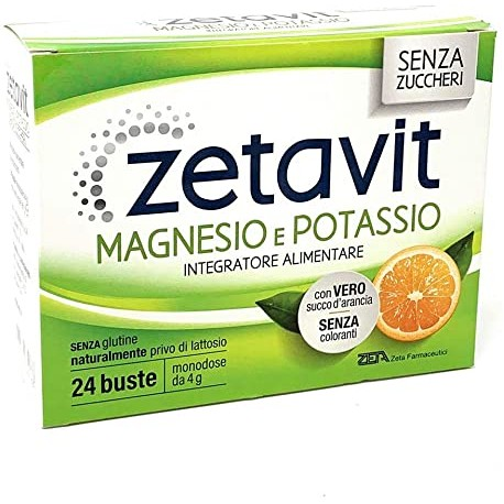 ZETAVIT MAGNESIO E POTASSIO SENZA ZUCCHERO 24 BUSTINE