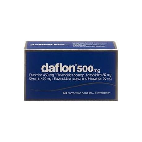 DAFLON 120 COMPRESSE RIVESTITE 500 MG