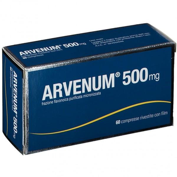 ARVENUM 500 60 COMPRESSE RIVESTITE 500 MG