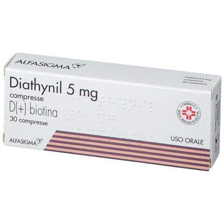 DIATHYNIL 30 COMPRESSE 5 MG