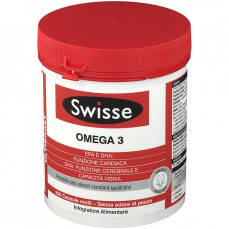 SWISSE OMEGA 3 1500 MG 200 CAPSULE