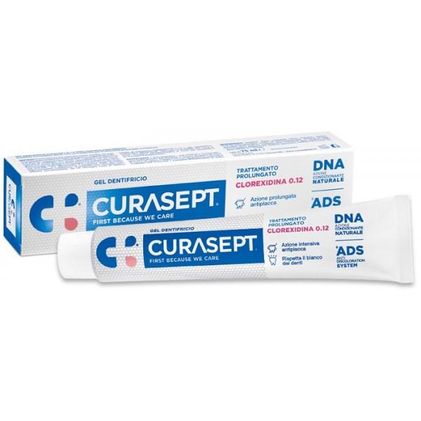 CURASEPT DENTIFRICIO 0,12 75ML ADS+DNA