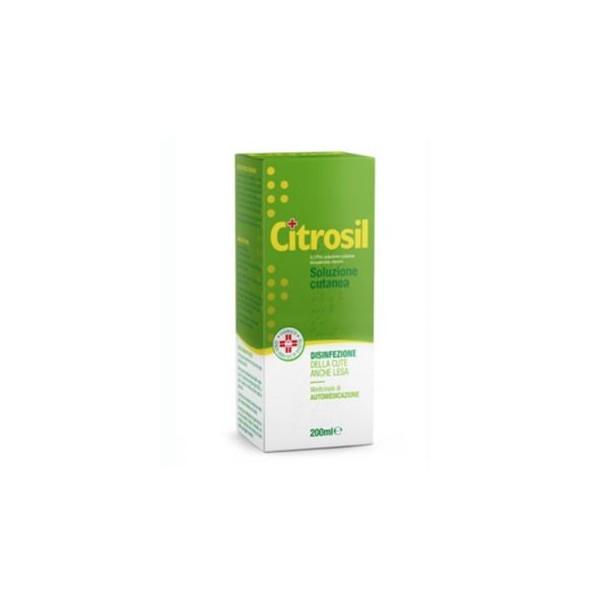 CITROSIL SOLUZIONE CUTANEA 200 ML 0,175%