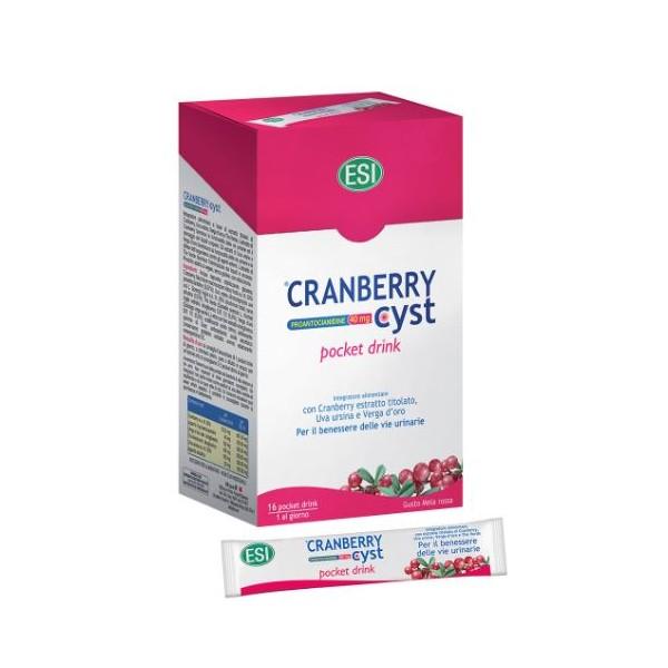 CRANBERRY CYST 16 POCKET DRINK