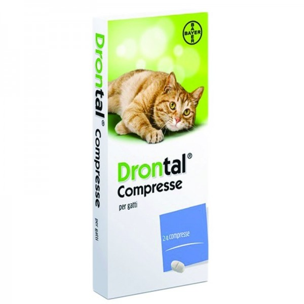 DRONTAL GATTO 24 COMPRESSE