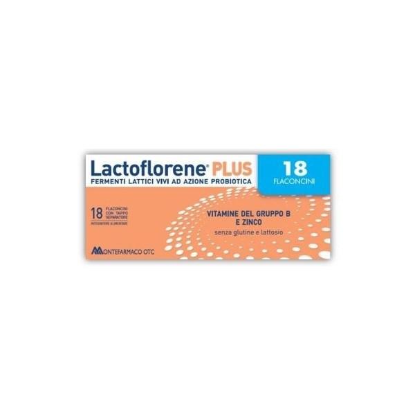 LACTOFLORENE PLUS 18 FLACONCINI