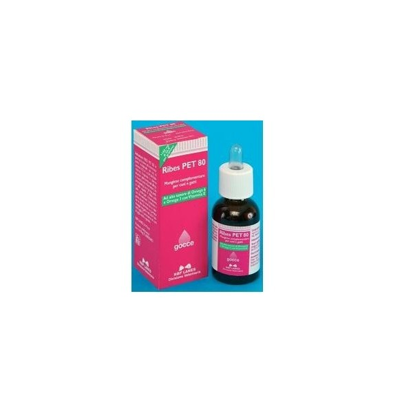 RIBES PET 80 GTT 25ML