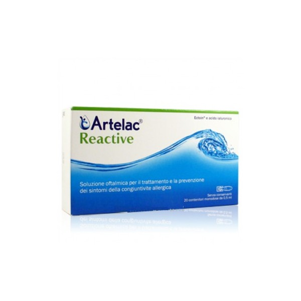 ARTELAC REACTIVE SOLUZIONE OFTALMICA 20 FIALETTE MONODOSE